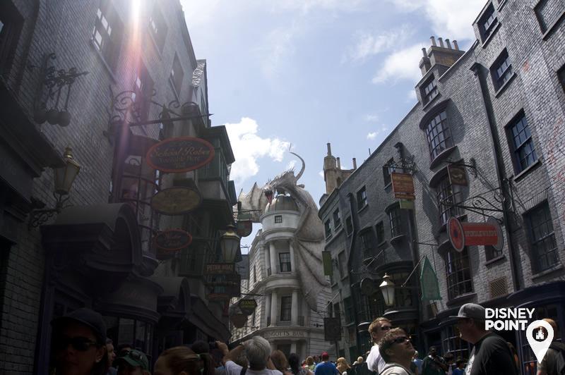 Disney Point Universal Harry Potter Beco Diagonal