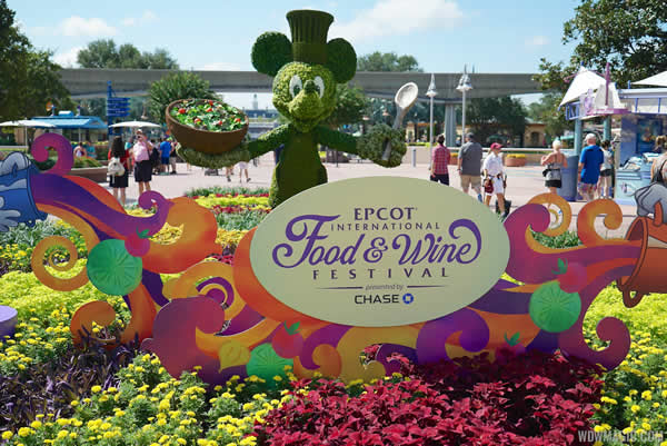 Food and Wine Festival no Epcot | (c) WDW Magic