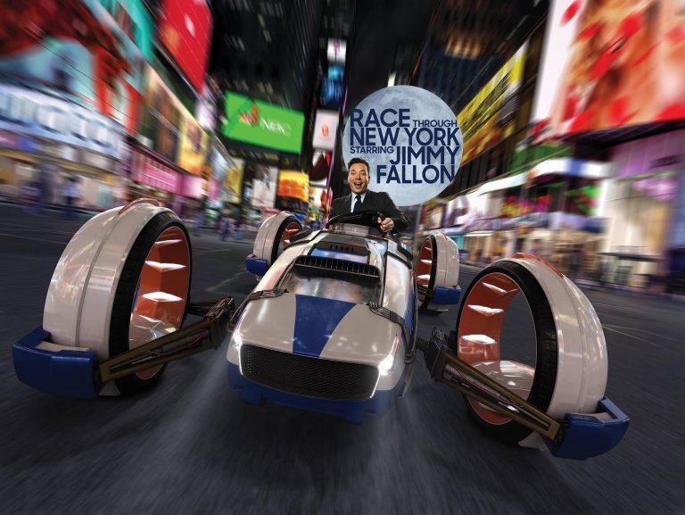 O Jimmy Fallon te leva pra apostar corrida nesse carro estranho pelas ruas de NY