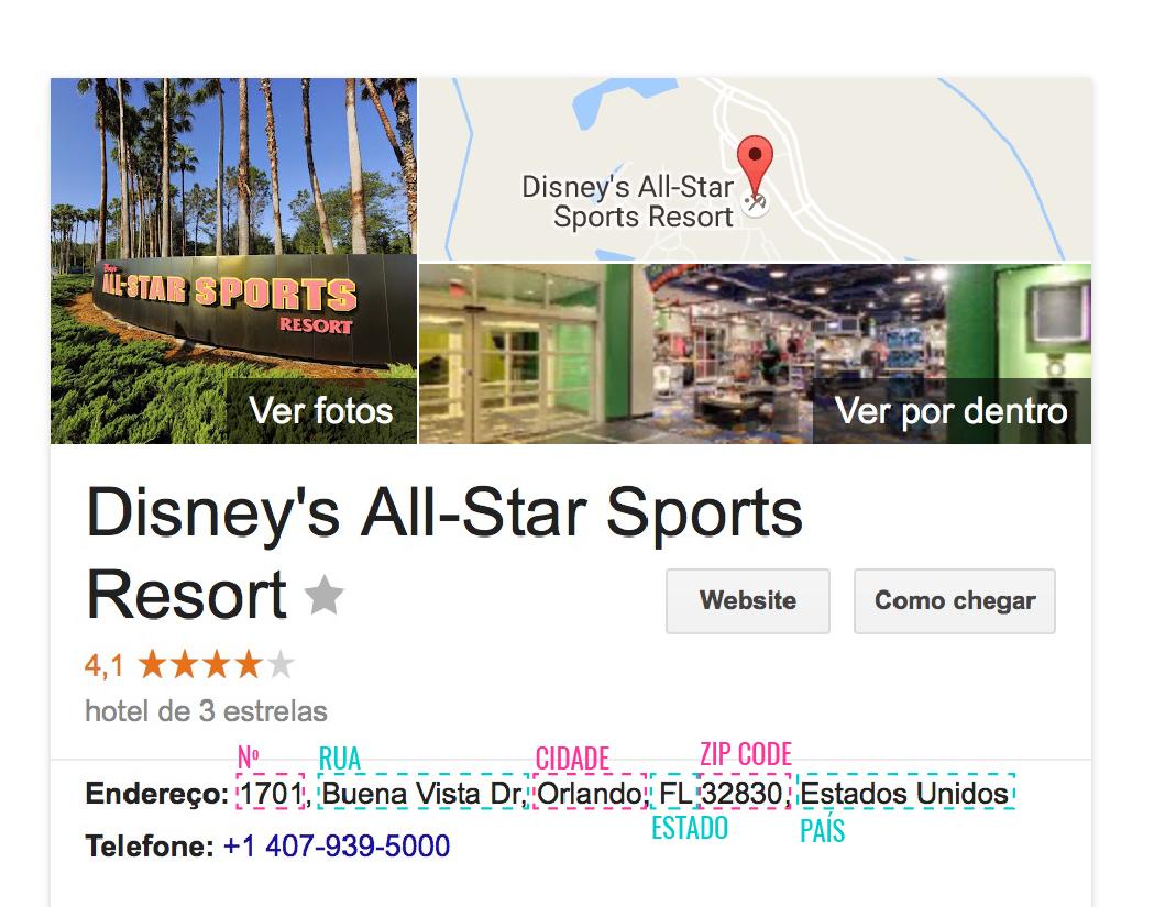 para obter o endereço do hotel, basta coloca o google! fique atento aos hotéis de rede, sempre lembrando de colocar a cidade também.