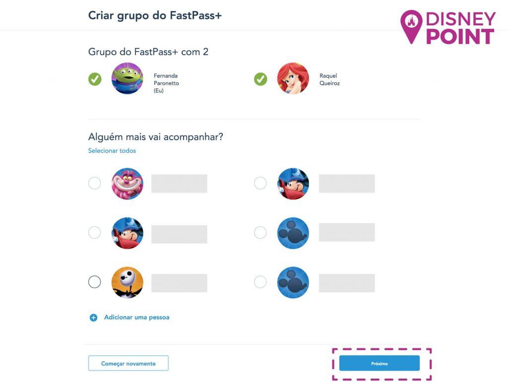 Fastpass Disney Agendar