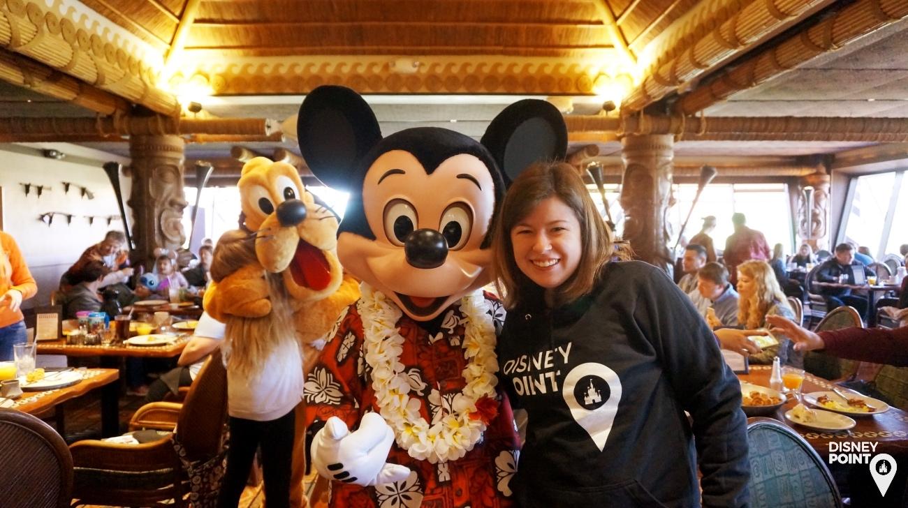 Disney Point Ohana Mickey Pluto