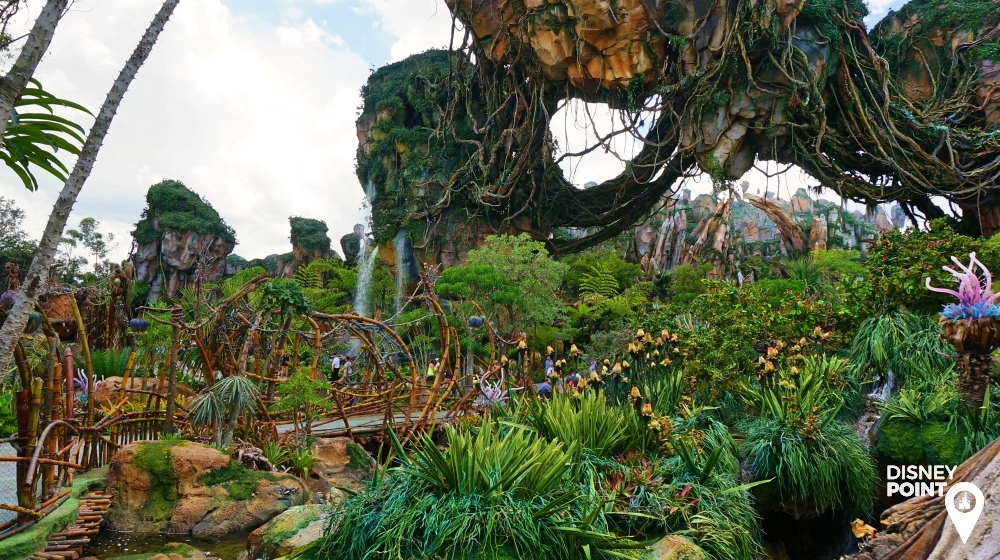 Disney Point Avatar Pandora Paisagem 3