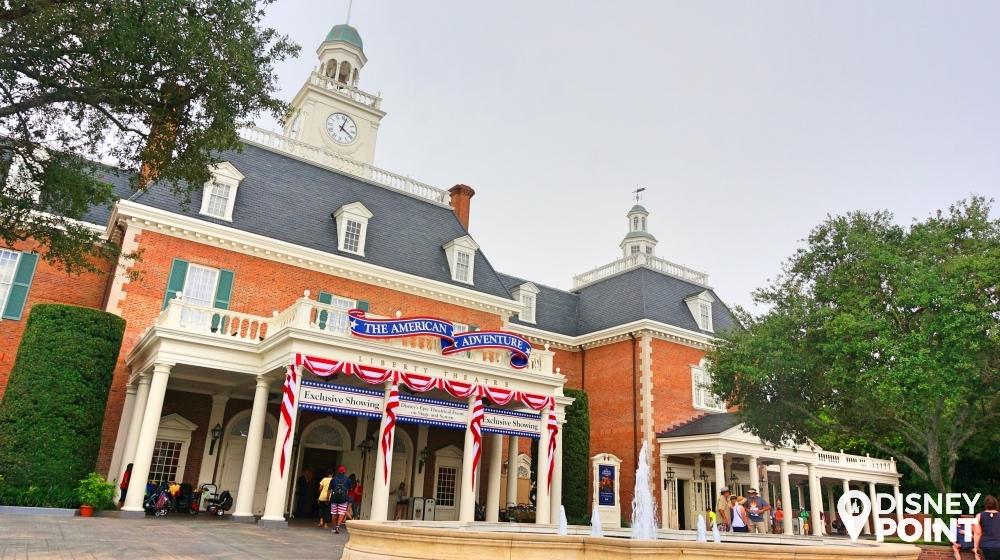 Disney Point Roteiro Grátis Epcot American Adventure