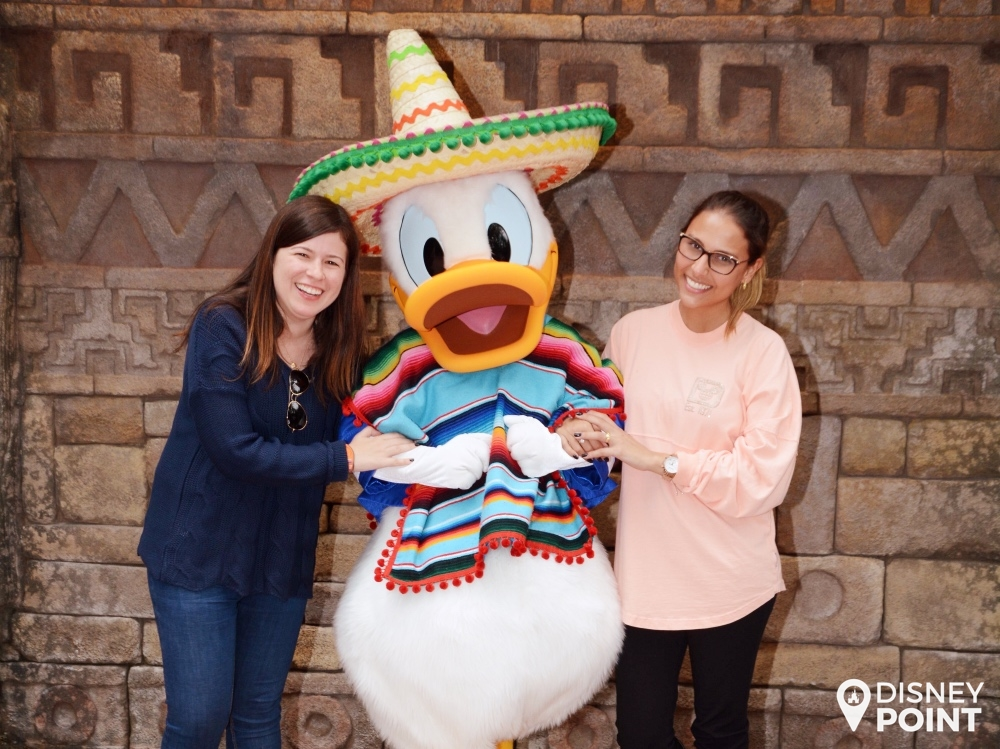Disney Point Roteiro Grátis Epcot Donald Mexicano