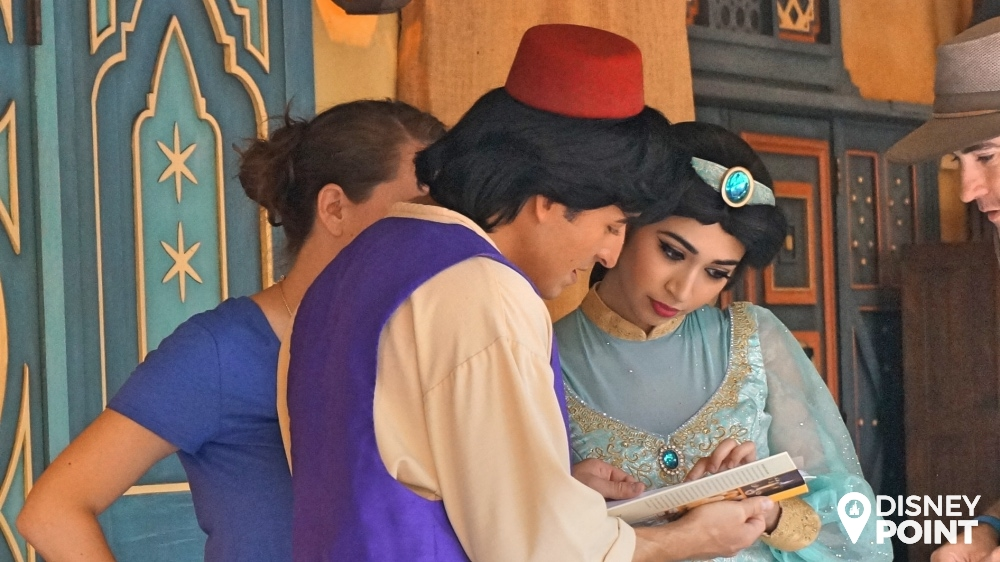 Aladdin Jasmine fotos Disney Magic Kingdom Adventureland
