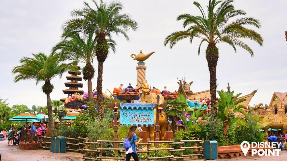 Aladdin Disney Orlando Adventureland Tapete Mágico