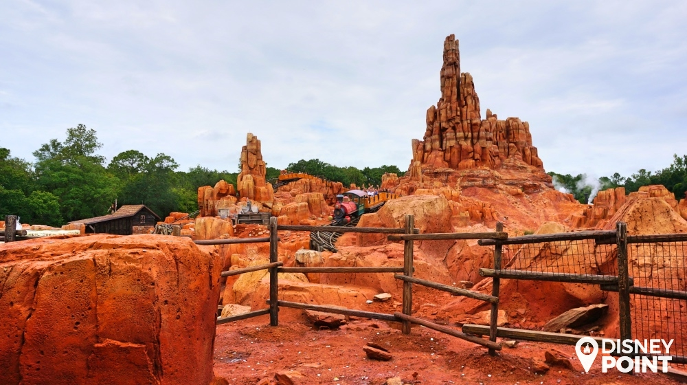 Big Thunder Montanha Russa Magic Kingdom Frontierland