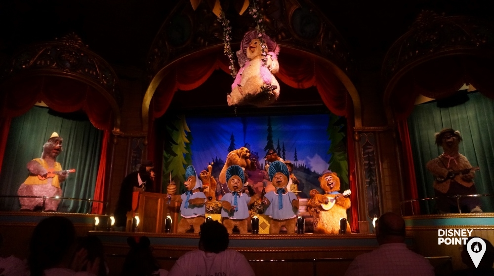 Country Bear Jamboree Magic Kingdom Frontierland
