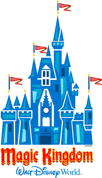 Logo do parque Magic Kingdom na Disney Orlando