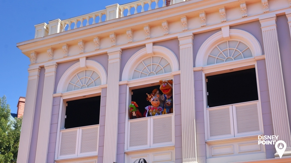 Muppets Magic Kingdom Liberty Square Haunted Mansion Disney
