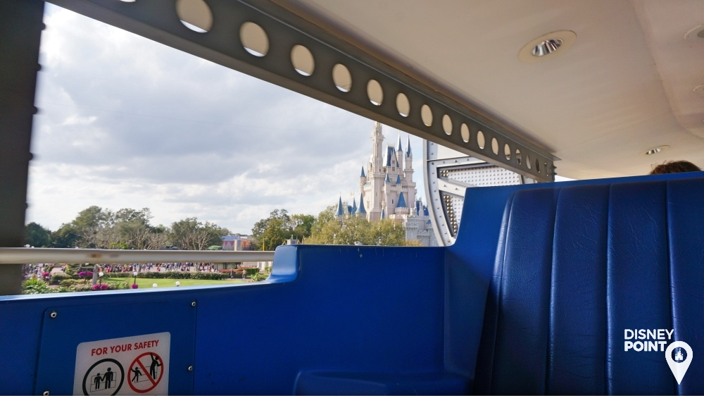 People Mover Tomorrowland Disney Magic Kingdom