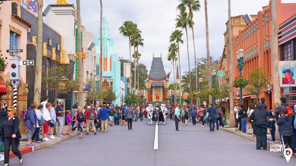 Disney Point Roteiro Studios Hollywood Boulevard