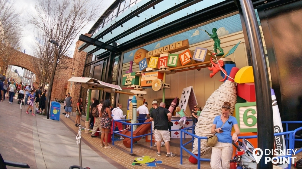Disney Point Roteiro Studios Toy Story Mania