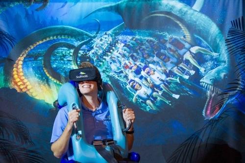Disney Point Sea World Kraken 2017
