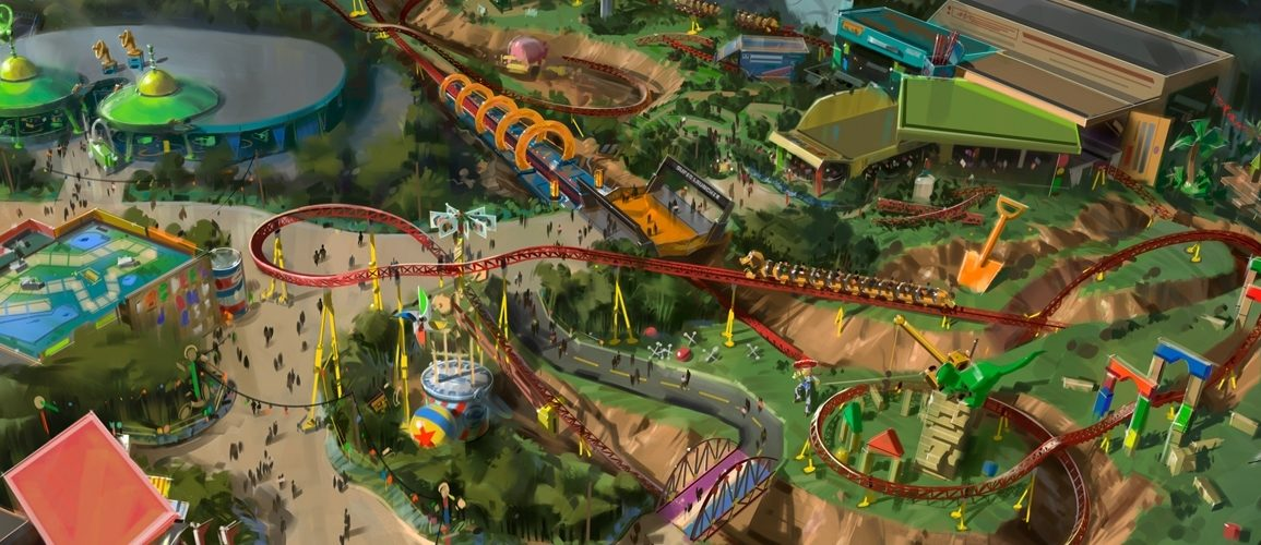 Toy Story Land Hollywood Studios Disney Point