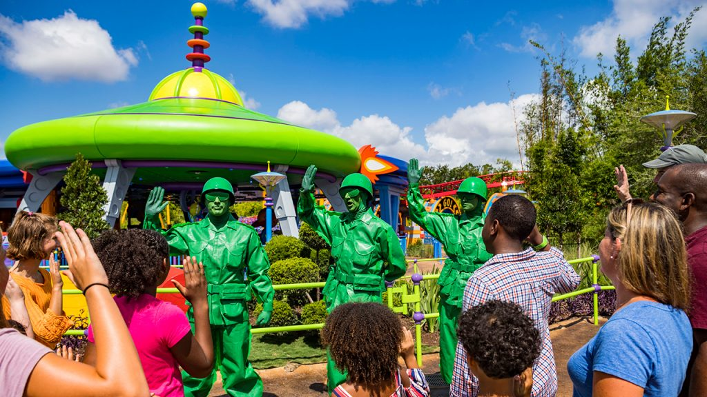 Disney Point Toy Story Land Soldadinhos