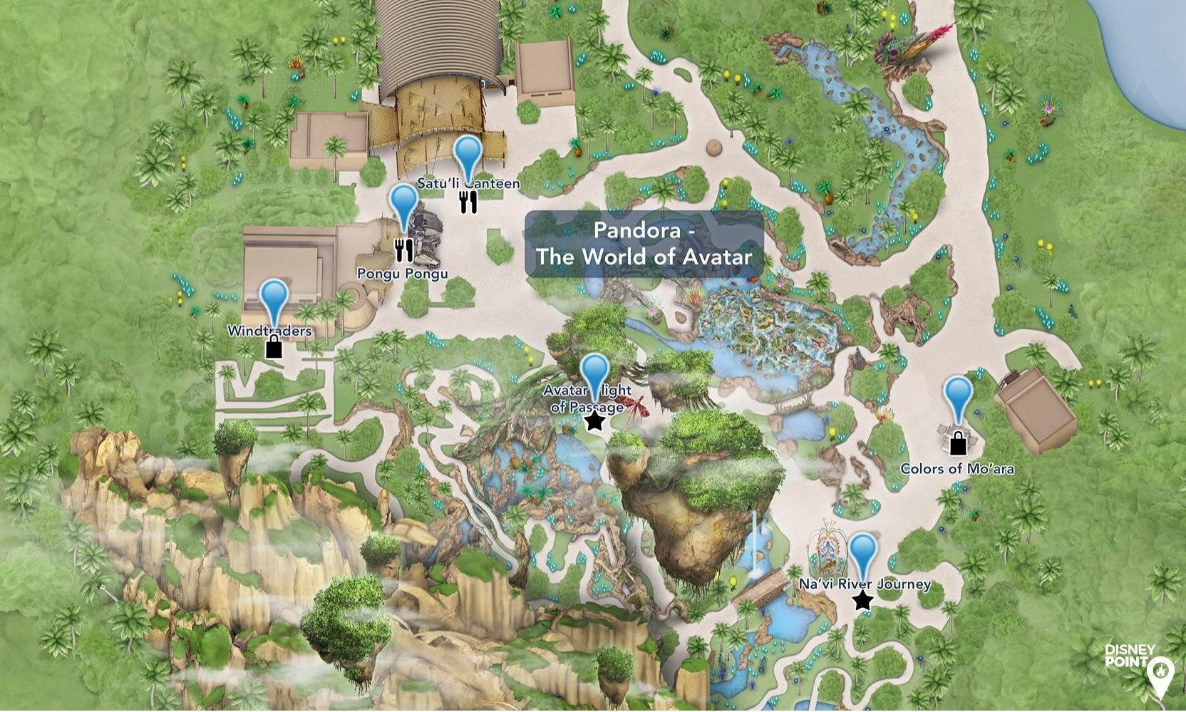 Guia para Explorar Pandora na Disney