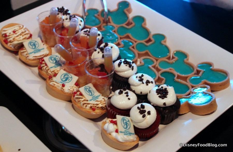 Sobremesas da Festa Ferrytale Cruise Disney