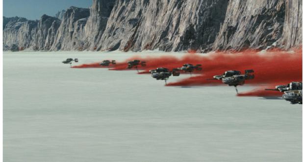 Star Tours de Star Wars no Hollywood Studios na Disney e cena do novo filme