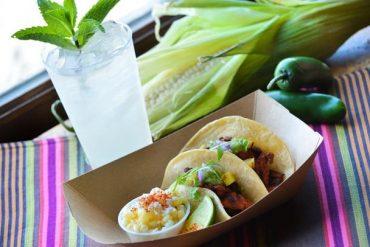Tacos no Pavilhão do México no Epcot