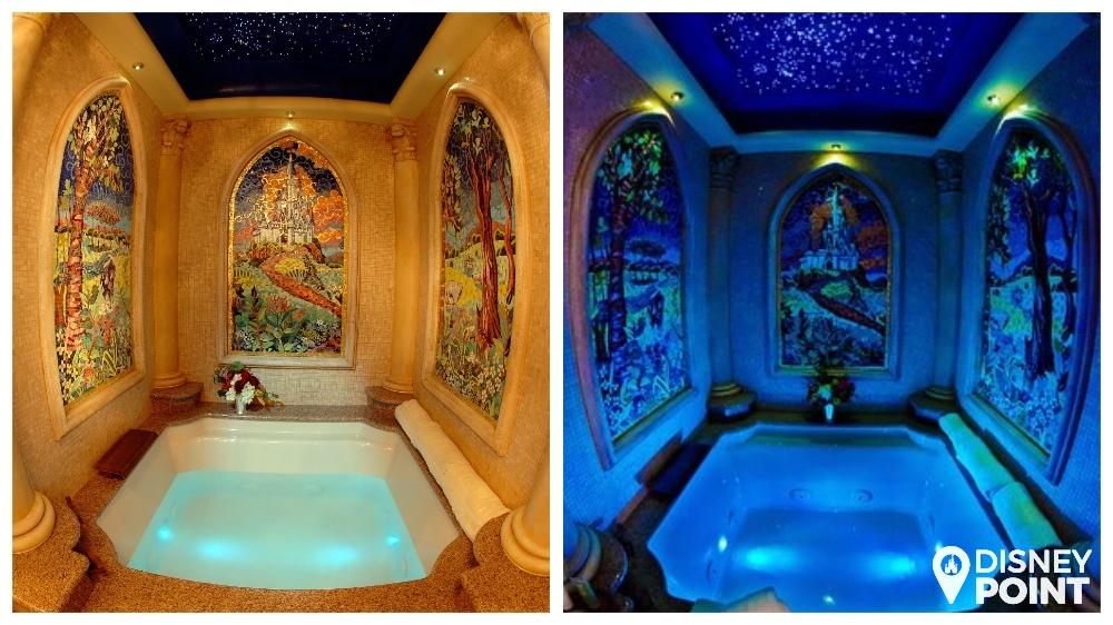 Disney Point Suite Castelo Cinderella Magic Kingdom Banheira