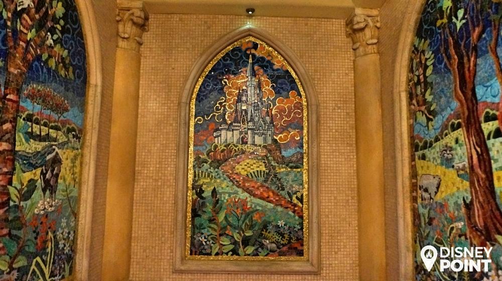 Disney Point Suite Castelo Cinderella Magic Kingdom Banheiro Mosaico