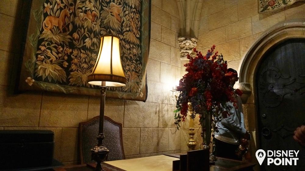 Hall de entrada da suite do Castelo da Cinderella no magic kingdom
