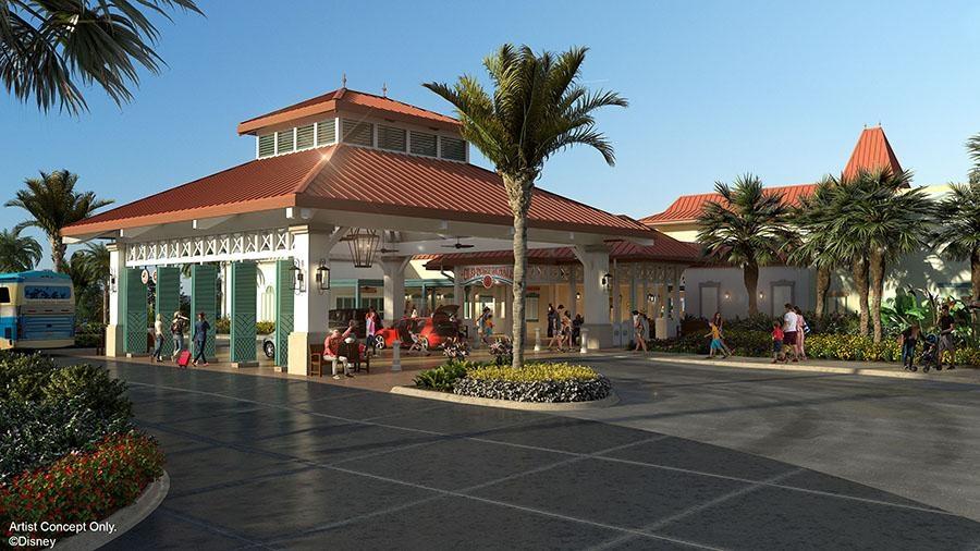 Disney Point Caribbean Beach Entrada