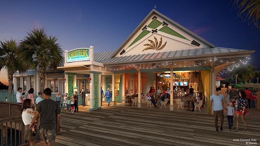 Disney Point Caribbean Beach Shutters