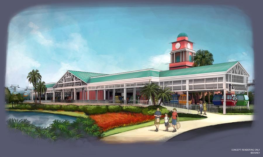 Disney Point Disney Skyliner Caribbean