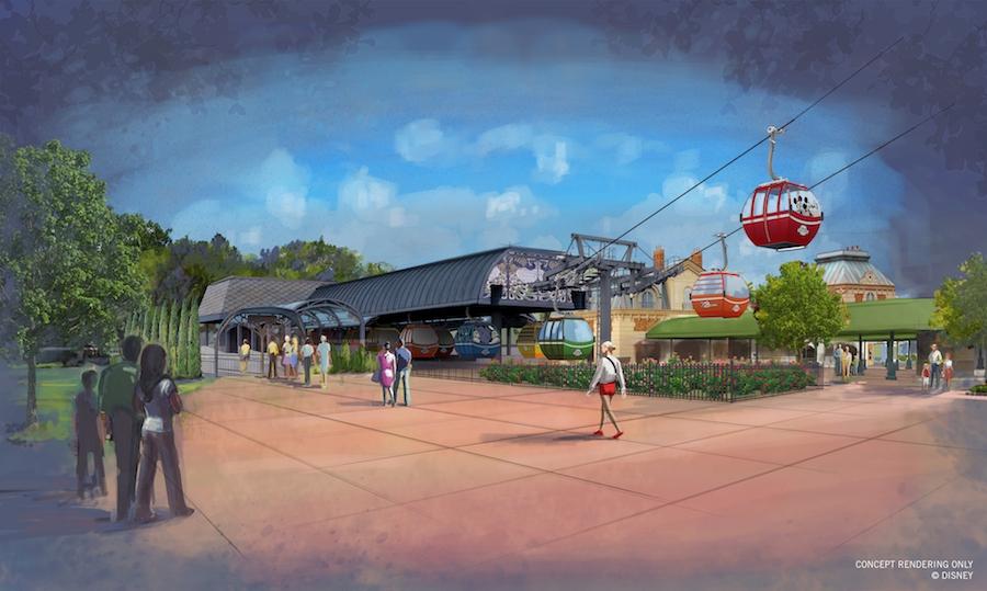Disney Point Disney Skyliner Epcot