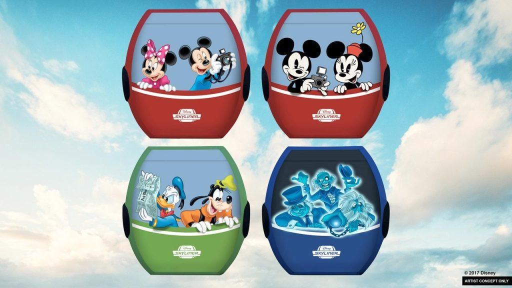Disney Point Disney Skyliner Gondolas