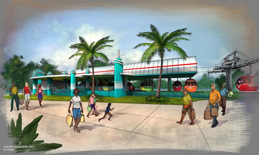 Disney Point Disney Skyliner Hollywood Studios