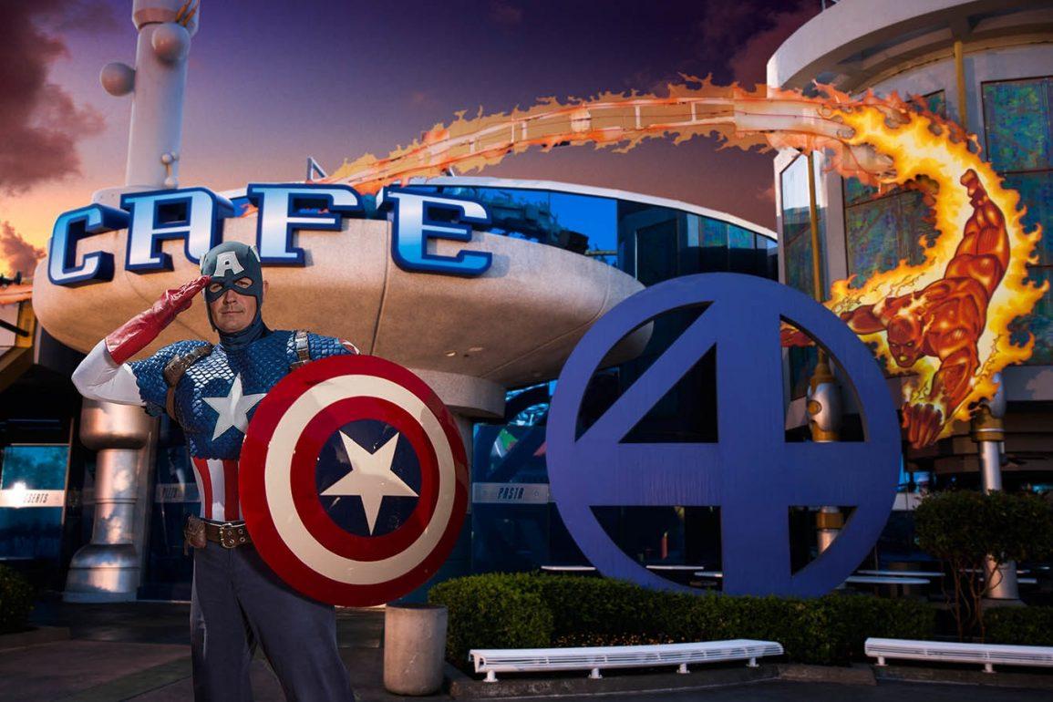 Marvel-Refeição-Personagem-Universal-Orlando-Resort