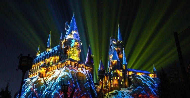 Disney Point Show Harry Potter Hogwarts Universal