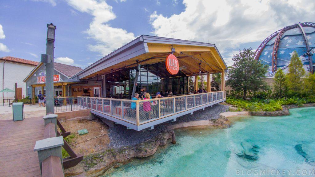 Blaze Pizza, opção barata em Disney Springs