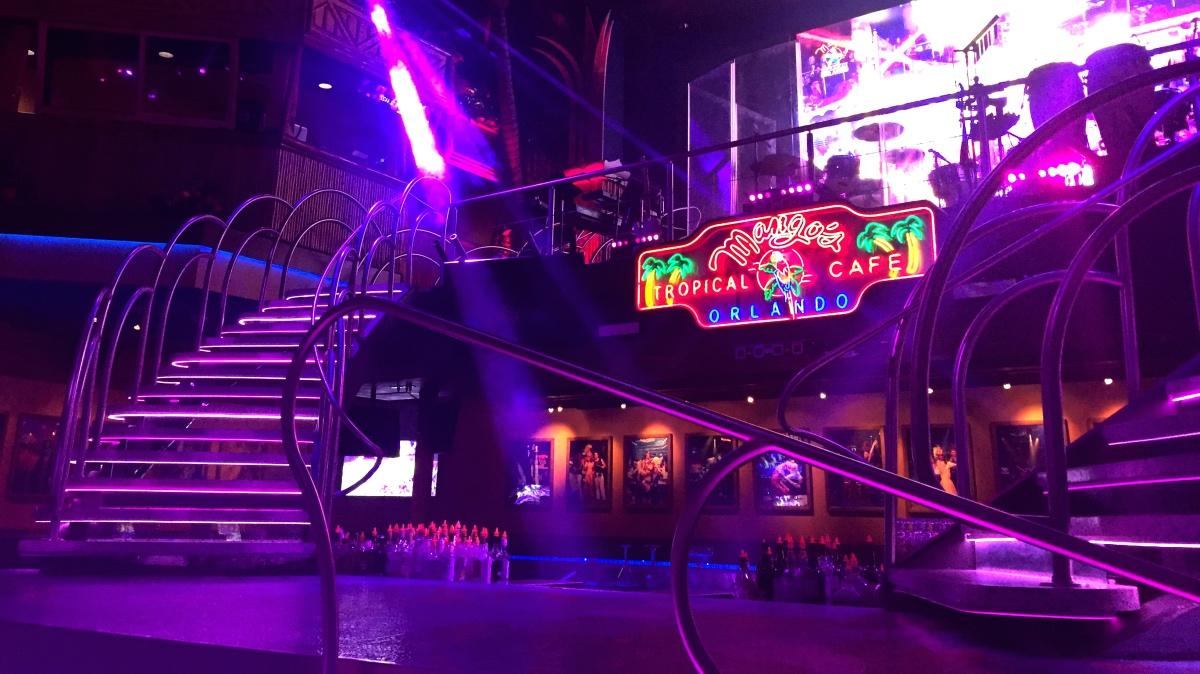Disney Point Mangos Tropical Cafe Orlando Palco 2
