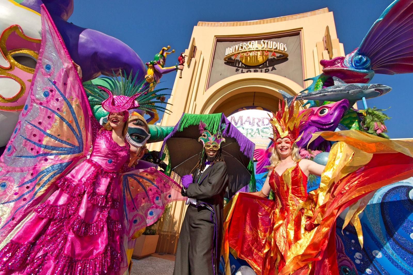 Disney Point Mardi Gras Universal Orlando