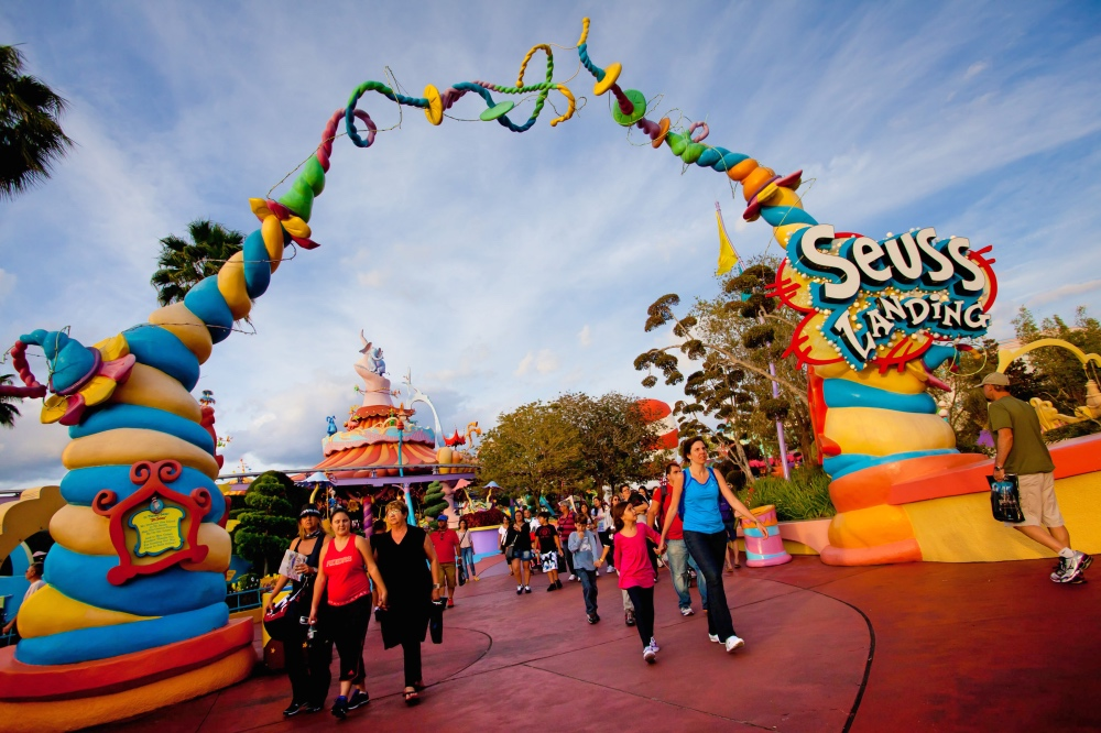 Disney Point Roteiro Grátis Islands of Adventure Seuss Landing Entrada