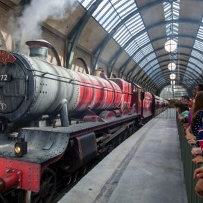 Preparado para embarcar no Hogwarts Express de verdade?