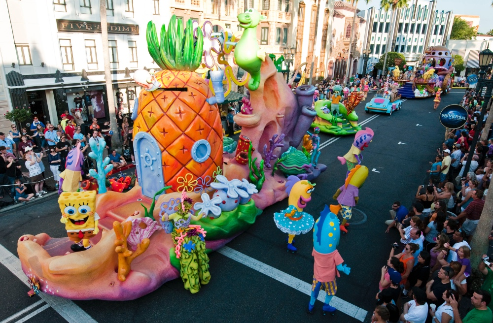 Superstar Parade, a parada com personagens da Universal!