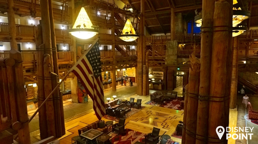 Disney Point Wilderness Lodge Lobby 3
