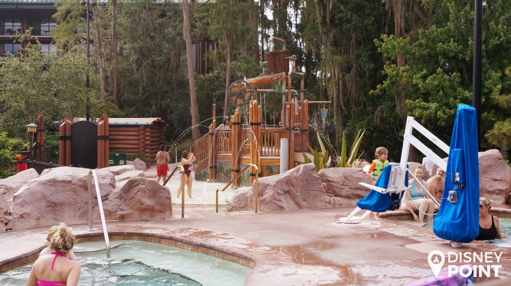 Disney Point Wilderness Lodge Piscina 2