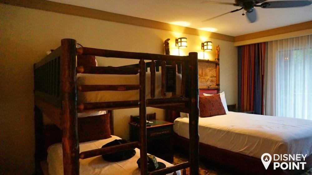 Escolhi meu quarto com uma cama de casal + 1 beliche!