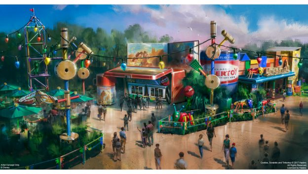 Disney Point Woody's Lunch Box Toy Story Land Hollywood Studios