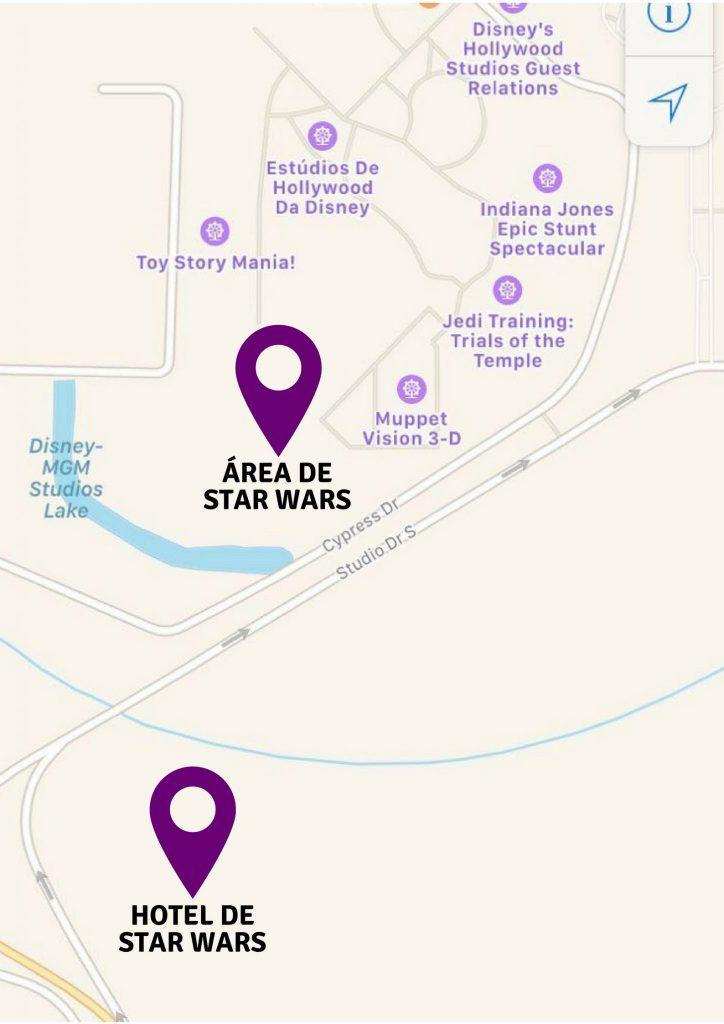 Disney Point Hollywood Studios Hotel Star Wars