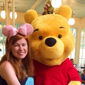 Disney Point Crystal Palace Magic Kingdom Pooh