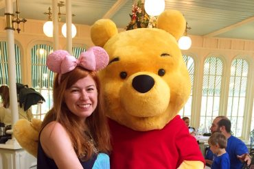 Disney Point Crystal Palace Magic Kingdom Pooh