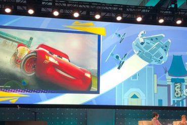 Disney Point Hollywood Studios Lightning McQueen's Racing Academy